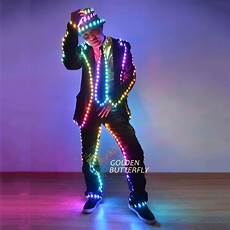 glow clothes aliexpress buy led light clothing luminous suits