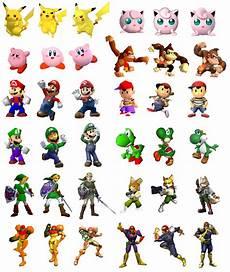 Super Smash Bros Character Chart The Evolution Of Smash Bros Chart Raises An Interesting