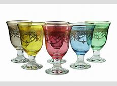 Wine Glasses With Color   David Simchi Levi