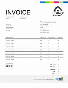 Construction Invoices Free Construction Invoice Template Free Download Send In