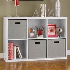 closetmaid decorative storage 30 quot cube unit bookcase