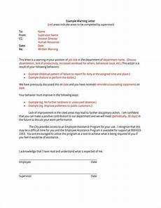 Absenteeism Report Template 10 Absence Warning Letter Templates Free Word Pdf