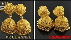 Earrings Design Images Latest Gold Earrings Designs Gold Jhumka Designs Photos