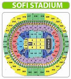 Us Bank Stadium Seating Chart Kenny Chesney Kenny Chesney Seating Chart Sofi Stadium
