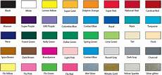 Ink Color Chart Screen Printing Ink Colors Kd Shirt Shop Illinois