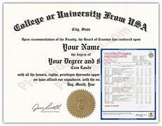 Fake College Certificates Usa Fake College Diploma And Transcripts State Design