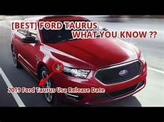 2019 ford taurus usa best 2019 ford taurus usa release date