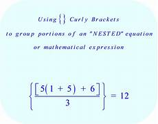 Brackets In Math How To Solve Equations With Brackets Tessshebaylo