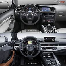 2008 Interior Design 2008 Audi A5 Vs 2016 Audi A5 Interior Design Comparison