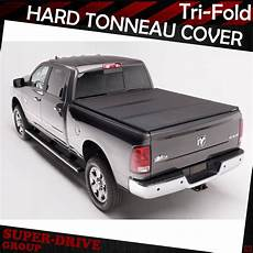 solid tri fold tonneau covers for 2005 2019 nissan