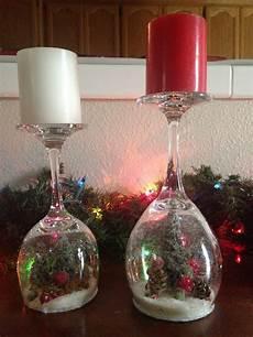 Christmas Wine Glass Tea Light Holders 20 Dollar Store Christmas Decorations You Can Easily Diy