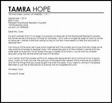 Club Resignation Letter Club Resignation Letter Resignation Letters Livecareer