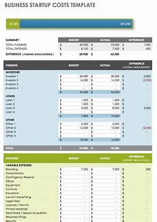 Start Up Cost For Business Business Startup Costs Calculator Templates 7 Free Docs