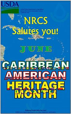 Caribbean American Heritage Month June Is Caribbean American Heritage Month Nrcs