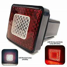 Led Reverse Light Hitch Cover Led Hitch Receiver Cover Driving Brake Amp Reverse Light