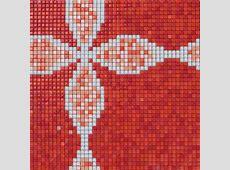 glass mosaic tile patterns red 12mm crystal glass tile backsplash GH19