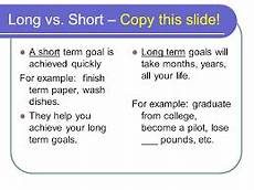Long Term Goals Examples Image Result For Long Terms Goals Examples Goal Examples