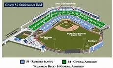 Steinbrenner Field Interactive Seating Chart Seating Chart And Ticket Prices Tampa Yankees