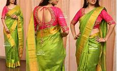 Light Green With Pink Saree Pv 3221 Pink And Green Price 9000rslook Your Best This