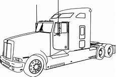Malvorlagen Lkw Trailer Truck Drawing At Getdrawings Free