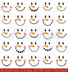 Snowman Faces Clip Art Snowman Faces Clipart Amp Vectors Illustrations On