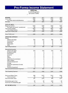 Income And Expenditure Statement Template Free Download 41 Free Income Statement Templates Amp Examples Templatelab