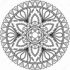 Malvorlagen Erwachsene Mandala Mandala Malvorlagen F 252 R Erwachsene Stockvektor