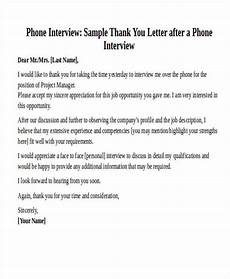 Example Thank You Note After Interview Free 32 Sample Interview Thank You Letter Templates In Ms