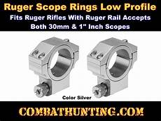 Ruger M77 Rings Chart Rus26 Ruger Style Ring 1 Quot Low Pro M77 Mkii Scope Rings