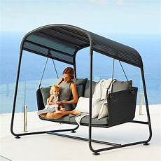 cave swing sofa by line luxury outdoor furniture company