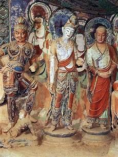 mogao caves fresco dunhuang mogao caves travel photos
