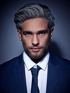 männer frisuren weiße haare zeitgeist hairstyles collective tendencies in hair fashion