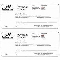 Car Payment Book Template Free Payment Coupon Templates 11 Free Printable Pdf