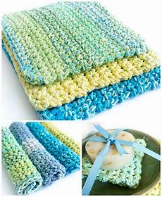 easy thick crochet wash dishcloths dabbles babbles
