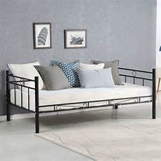 giantex size daybed sofa bed bedroom modern metal