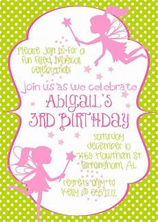 Fairy Party Invite Fairy Princess Birthday Party Invitation In By