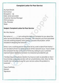 Complaint Letter Format Complaint Letter Format Samples How To Write A
