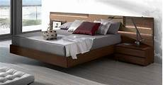 Modern Headboard Lacquered Made In Spain Wood Elite Platform Bed With Large