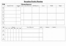Weekly Planning Sheets Weekly Planning Sheet Reception By Hyssop Puppy
