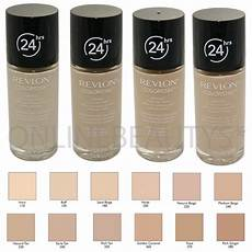 Revlon Colorstay Undertones Chart Revlon Colorstay 24 Hours Skin Foundation Makeup 30ml