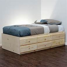 awesome bed with drawers underneath homesfeed