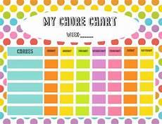 Chore Reward Chart Template Free Chore Chart Amp Reward Tickets Printable Simply Stacie