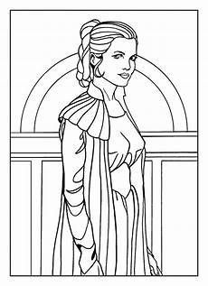 prinzessin leia 4 sailor moon coloring pages