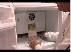 Refrigerator Diagnostic & Repair Water leaking,Kenmore
