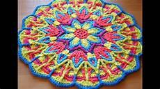 mandala tejida a crochet