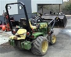 John Deere 318 Garden Tractor The Bird
