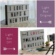 Cinema Light Box Sayings Typo Light Box Diy Petit Pixel Design