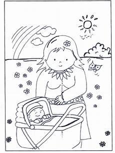 baby in kinderwagen malvorlagen kinder