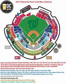 Washington Nats Stadium Seating Chart Nationals Park Opening Day Map Dc