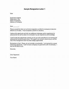 Resignation Letter Examples Resignation Letters Download Pdf Doc Format